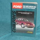 Chilton's Ford Taurus/Mercury Sable 1986-92 Repair Manual