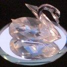 Swarovski Crystal Swan Original Packaging
