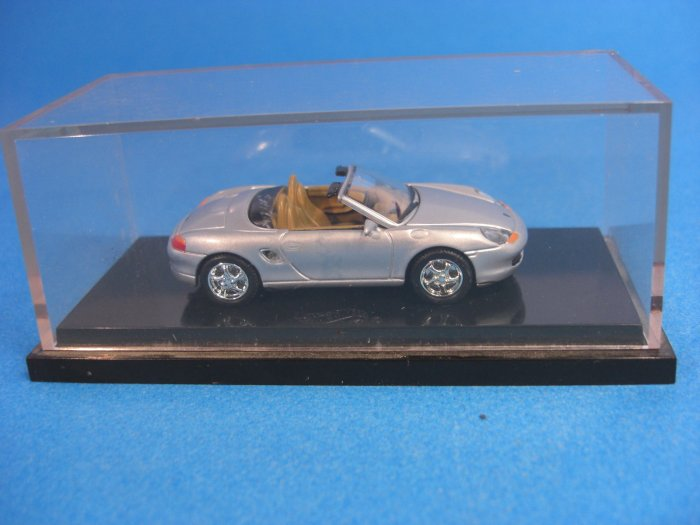 Porsche Boxster Convertible Silver