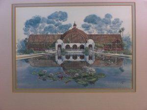 """BOTANICAL BUILDING"" Print by John Yato"