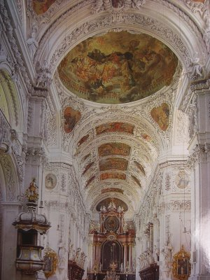 Waldsassen Abbey Postcard