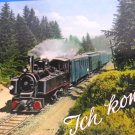 German Locomotive Postcard