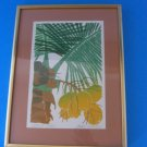 Janet Holaday Coconut Palm Print