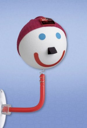 "New Jack In The Box Pencil Topper  Antenna Ball ""Winter Beanie Hat"""