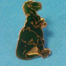 Cloisonne Alectrosaurus Dinosaur Green Pin