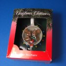 Santa's Best TINY TEA PARTY 1991 Christmas Ornament