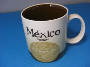 Starbucks Mug City Collector Series MEXICO CITY