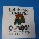 San Diego Zoo Celebrate Europe !  Reindeer Lapel Pin
