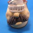 Golfer Pottery Hand Made Face Mug