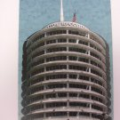 CAPITOL RECORDS TOWER BUILDING 1954 Art Card by Paul Olson