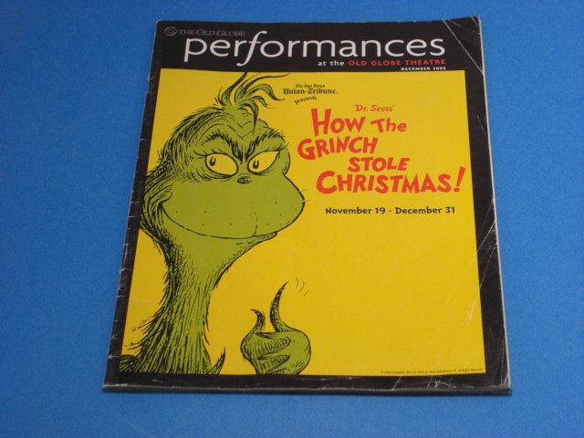Dr Seuss How The Grinch Stole Christmas Dec 2005 The