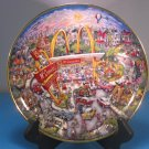 Golden Moments Bill Bell's McDonalds Series Plate