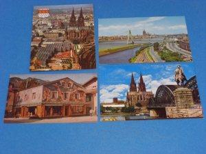 Köln Am Rhein Germany Postcards
