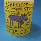 Capricorn (The Goat) Ceramic Mug by SMUGS