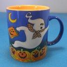 Two Friendly Ghosts Avon Ceramic Halloween Mug