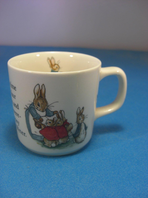 Wedgwood Baby Gifts Uk : Wedgwood of etruria beatrix potter peter rabbit child mug