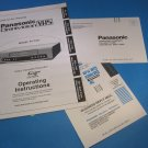 Panasonic Omnivision VHS-Model PV7451-Operating Instructions Manual