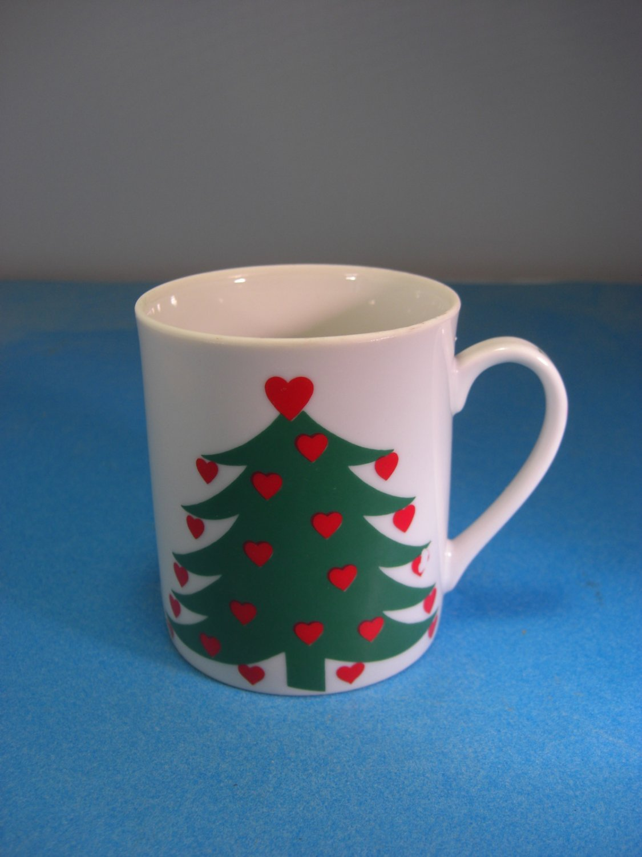 Takahashi I Love Christmas Porcelain San Francisco Mug