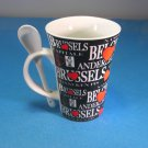Belgium Brussels Bone China Mug
