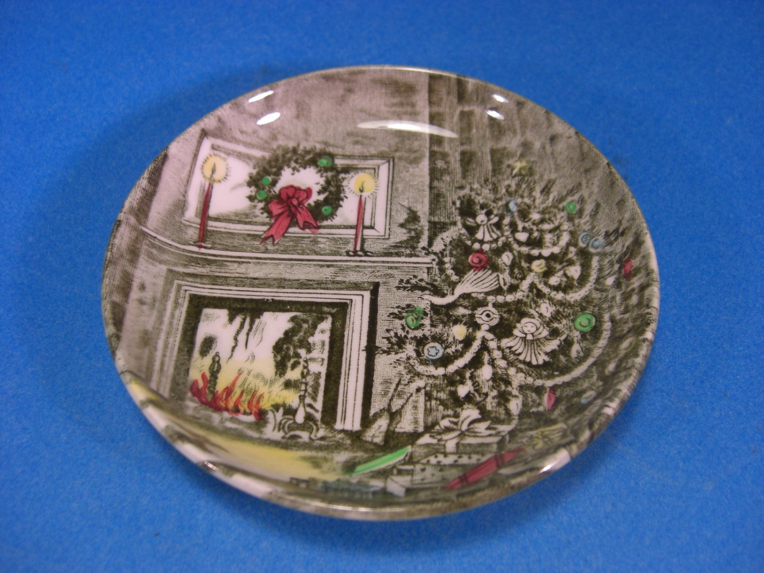 Johnson Bros Merry Christmas Coaster Dish England