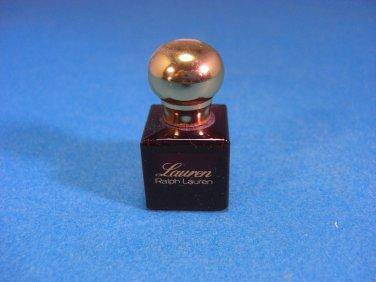 Lauren From Ralph Lauren Parfum Mini Bottle  1/8 OZ