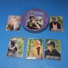 Star Wars Jedi Knights Metal Trading Cards Lucasfilm LTD1998 Metallic Impressions
