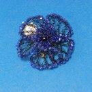 Lisa Toland Electric Blue Pin/Hair Clip
