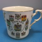 Canada Coats Of Arms & Emblems White Bone China Cup