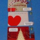 Starbucks Gift Cards Christmas 2013 & Valentine's