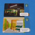 Starbucks Gift Cards 2 Different Storefront 2013