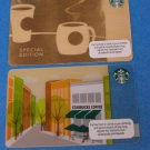 Starbucks Gift Cards Special Edition & Storefront 2013
