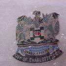 City Of CharlotteTown Canada pin