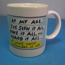 At My Age HALLMARK Shoebox Greetings Mug