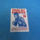 Sugar Ray Robinson 39 Cents Mint US Stamp