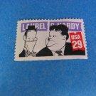 Laurel & Hardy Comedians - 1991Single Stamp USA  29c
