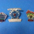 San Diego Padres MADD Club Dry-Er Friar Pins 1999-2000