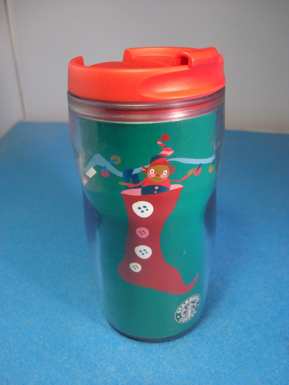 Starbucks Holiday Tumbler 8 oz 2004 + Unswiped Card