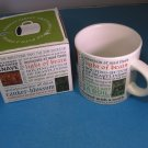 Shakespeare Mug Shakespearean Insults New In Box