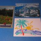 Colorado Winter Park/Steamboat/Colorado Springs Postcards