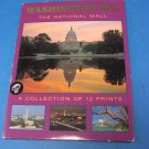 Washington D.C. The National Mall Collection of 12 Postcards