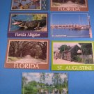 St. Agustine Florida Postcards