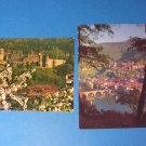 Heidelberg Castle Germany Postcards
