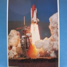 F-003 Space Shuttle Discovery Lifts Off From Pad 39A Postcard