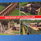 Environs of LLangollen Wales Postcards
