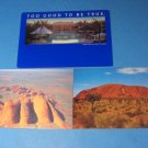 Australia Mirage Gold Coast Resort The Olgas and The Ayers Postcards