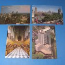 Tower Of London Westminster Abbey and Houses of Parliament Postcards
