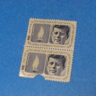 5 Cent John F. Kennedy 1917-1963 Plate Block Of 2 Stamps