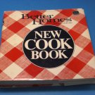 Better Homes Gardens New Cook Book Plaid Cover 1982 Hardcover