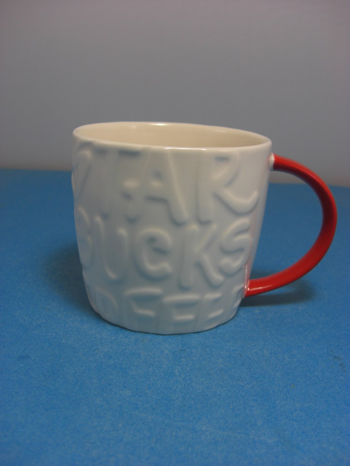 Starbucks Coffee Graffiti Mug Crhistmas 2015 White Mug Red