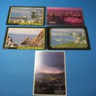 Acapulco Mexico Postacard Lot 5 Unused Cards